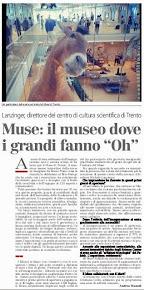 """Muse: il museo dove i grandi fanno """"Oh"""""""