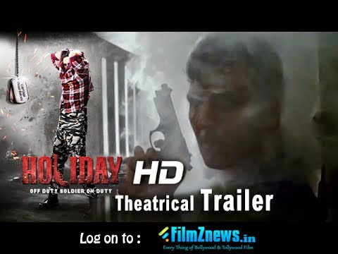Holiday (2014) Theatrical Official HD Trailer