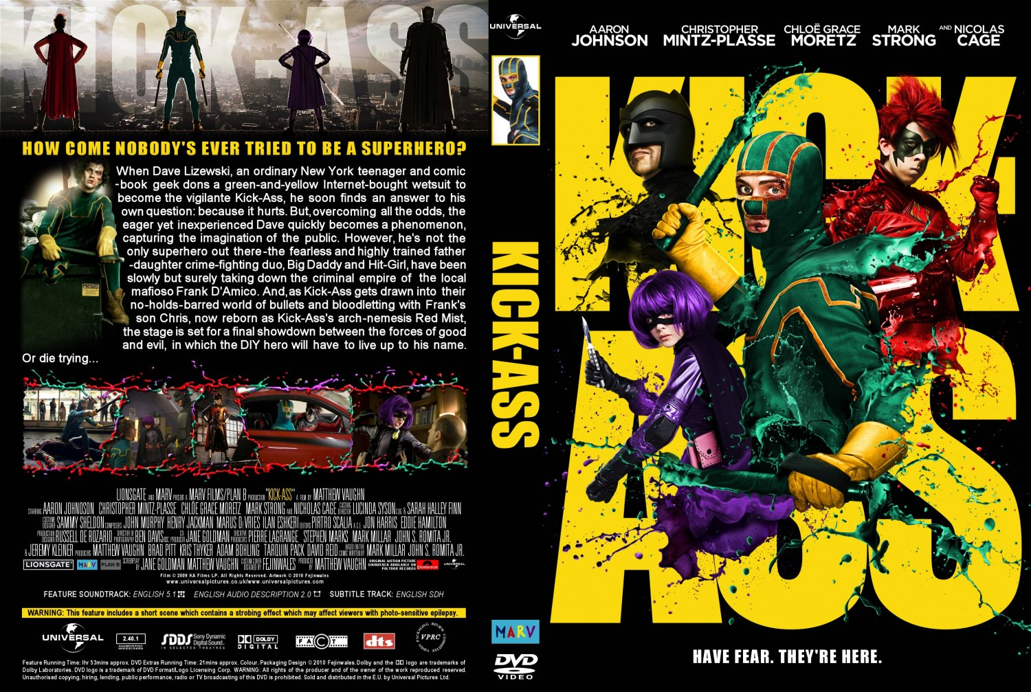 Absolutely kick ass 35 dvd are
