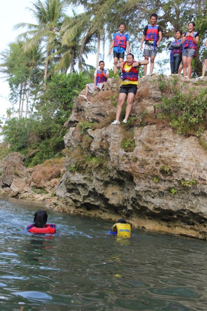 Body Rafting Di Sungai Oyo Gunung Kidul