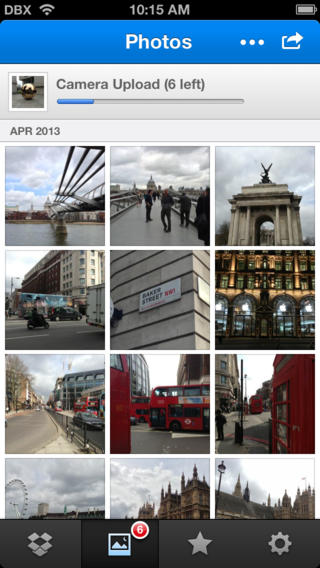 Dropbox, iPhone Applications
