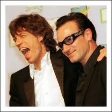 Bono thinks Sir Mick Jagger's wrinkles are 'beautiful'