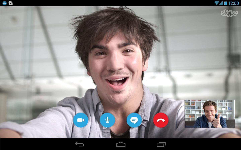 Skype Android Apk resimi 4
