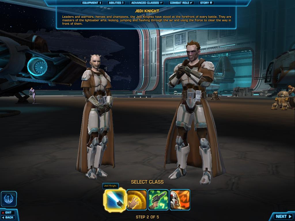 Republic Class Swtor Swtor Jedi Knight Class