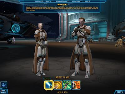 SWTOR - Jedi Knight Class