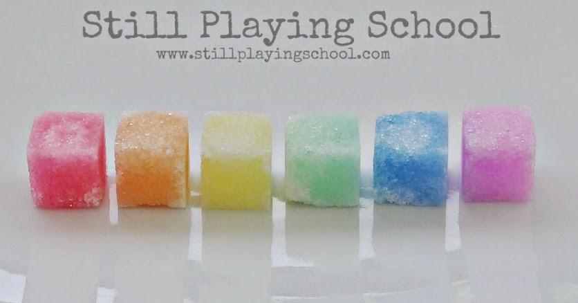 Dissolving Sugar Sugar Cubes Dissolving