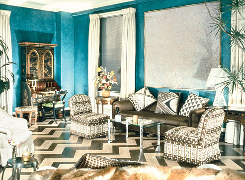 The glam pad the timeless design of albert hadley Albert hadley
