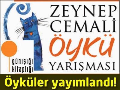 Zeynep Cemali Öykü Yarışması 2013 öyküleri yayımlandı.