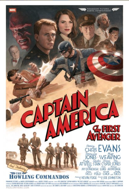 poster capitan américa
