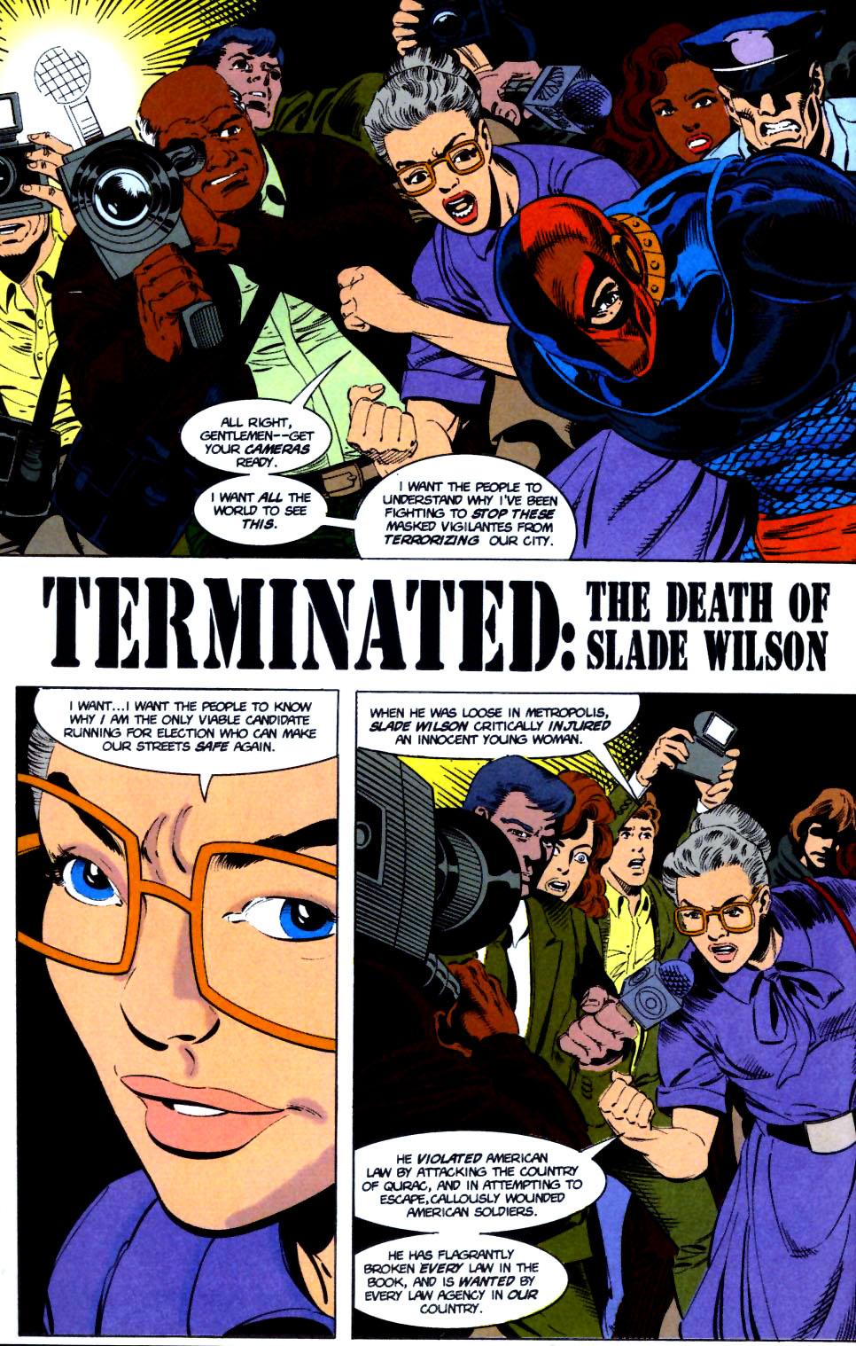 Deathstroke (1991) Issue #16 #21 - English 3