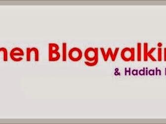 Segmen Blogwalking + Hadiah Bertuah by Nisa