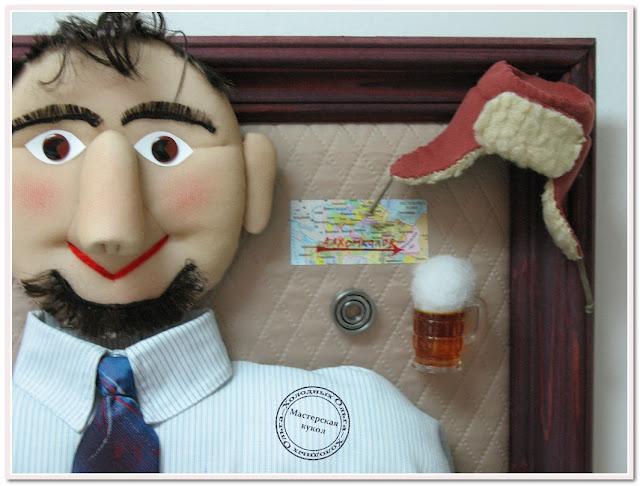кукольный портрет по фотографии
