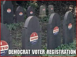 demicratic voter registration center