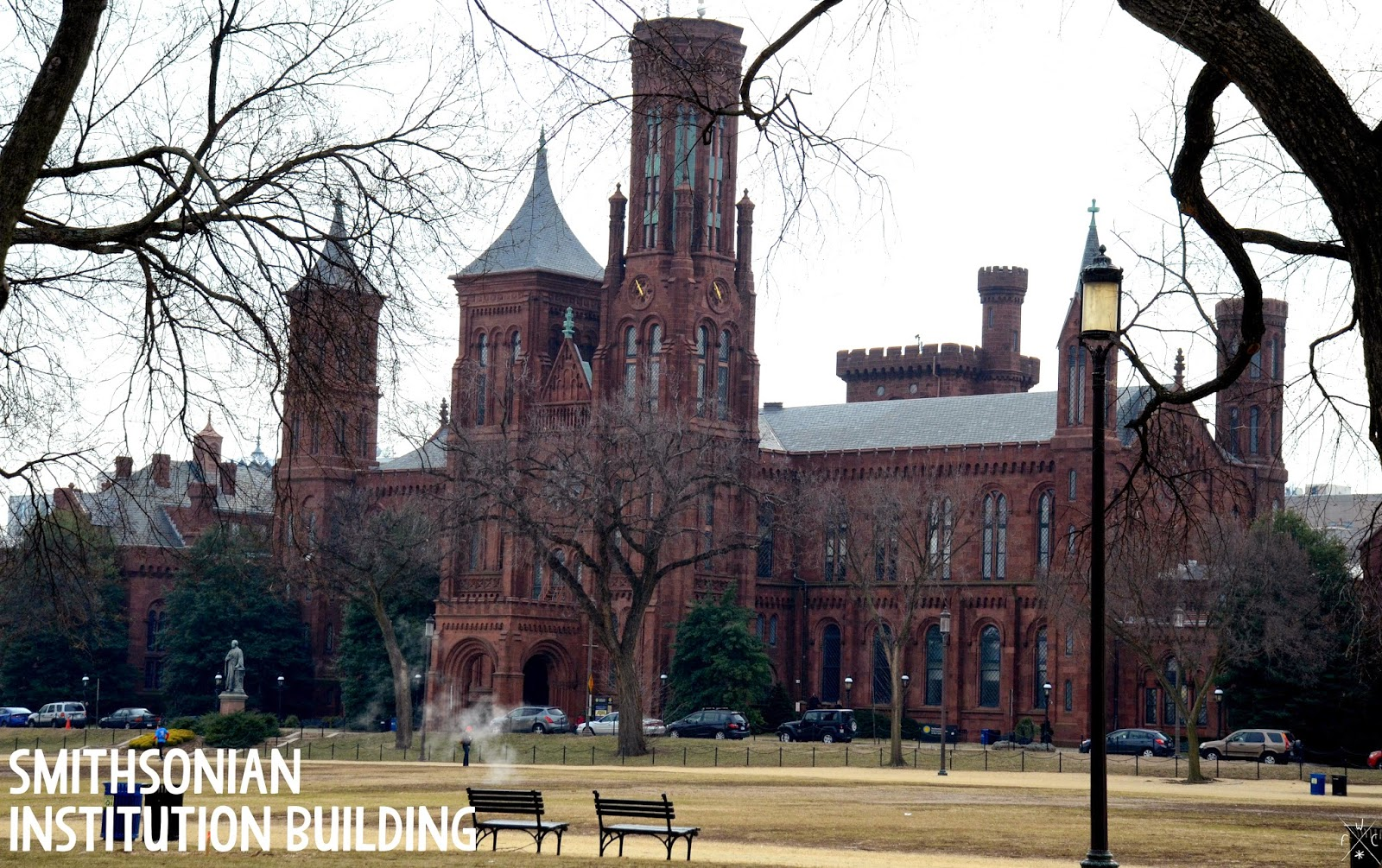 Smithsonian Institution Building, Washington DC, USA