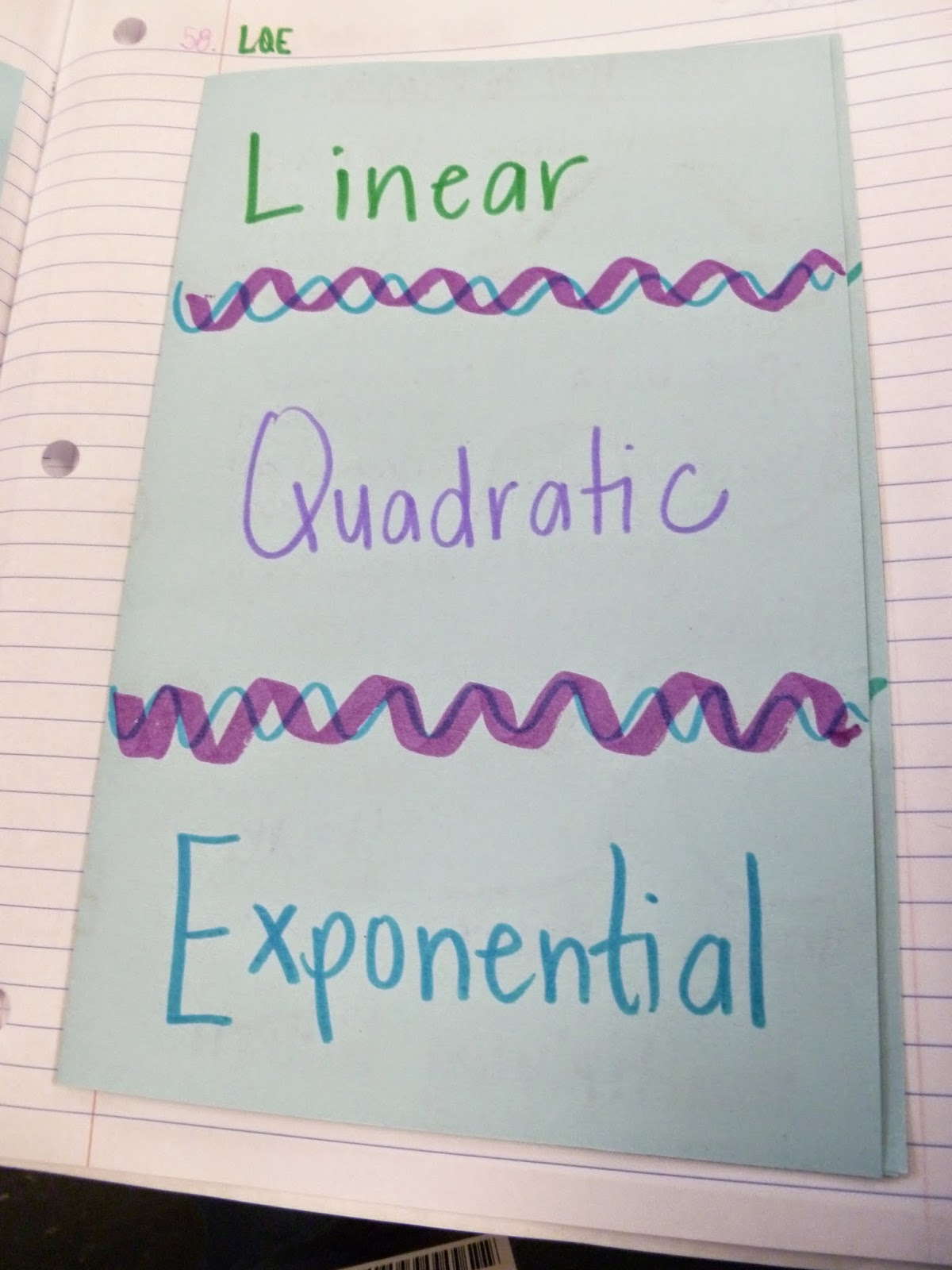 Learning with Tape Friday Freebies Comparing LinearQuadratic – Comparing Linear and Exponential Functions Worksheet