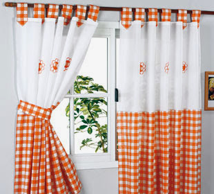 Manualidades y artesanias salticoz como hacer unas for Como hacer cortinas de cocina