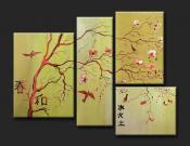 Amuletos y rituales magicos cuadros decorativos feng shui for Cuadros decorativos segun feng shui