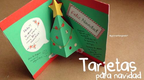 Pl stica tarjetas para felicitar la navidad - Ideas para una postal de navidad ...