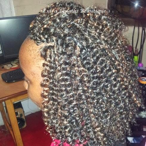 today s hairstyle in the protective styles series is crochet braids i ...