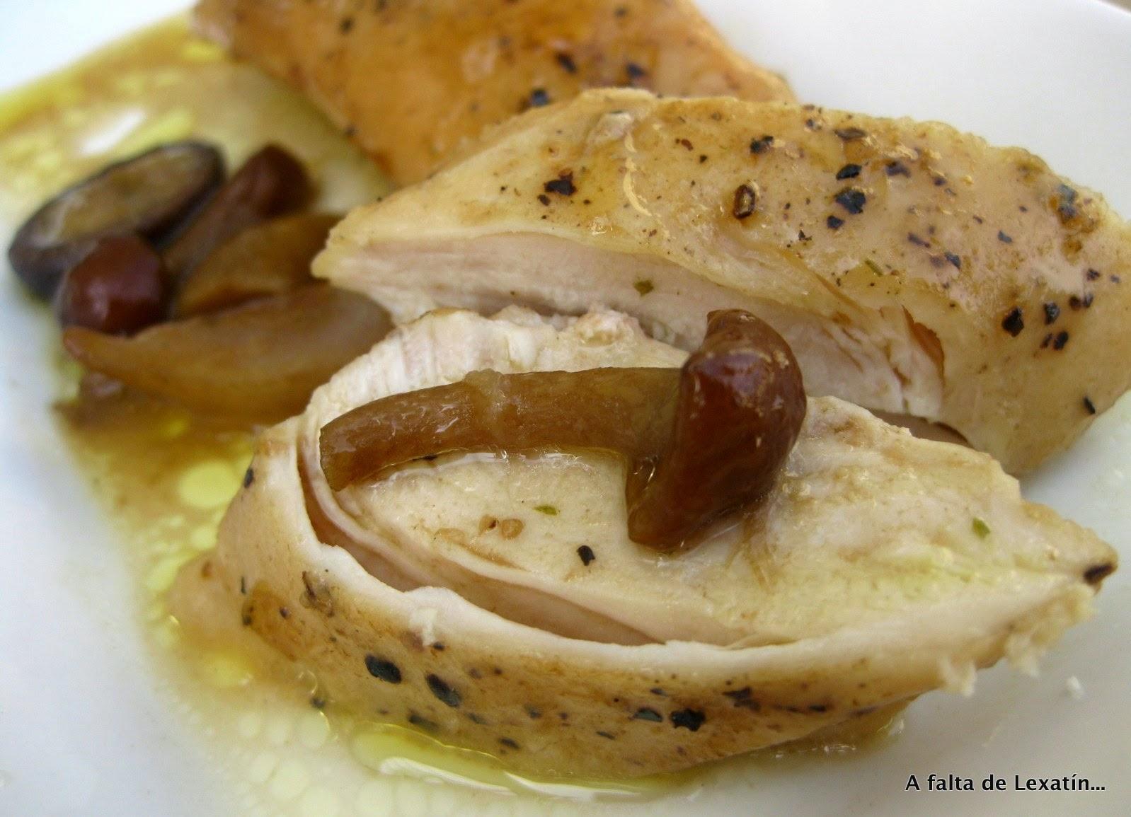 Pechugas de pollo al Marsala