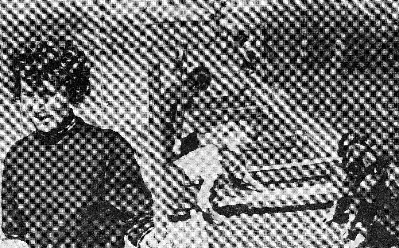 Valles vidusskolas izmēģinājumu lauciņi 1978. gads