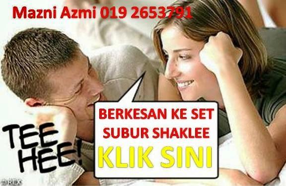berkesan ke set kesuburan shaklee bajet untuk suami isteri