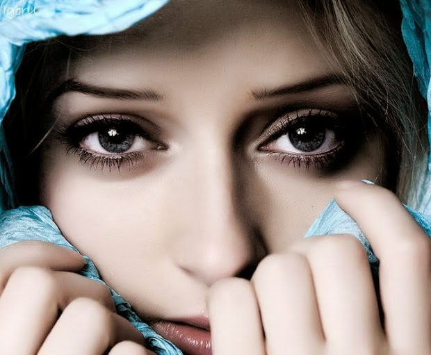 most beautiful sensual eyes of beautiful women in the world