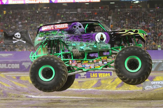 #MonsterJam's Grave Digger driven by Carl Van Horn