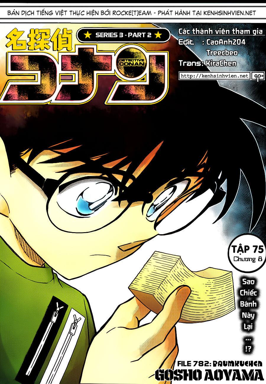 Detective Conan - Thám Tử Lừng Danh Conan chap 782 page 1 - IZTruyenTranh.com