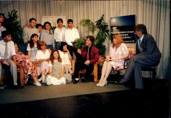 Programa de TV junto a los Jóvenes