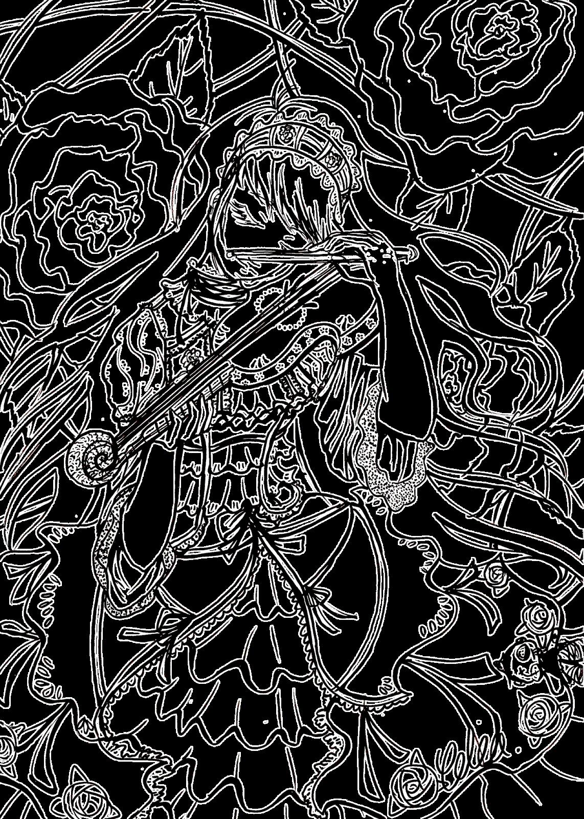 lines colorier
