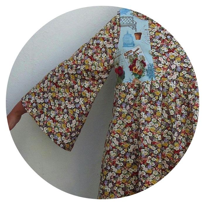 Medieval sleeve, SDB dress Y