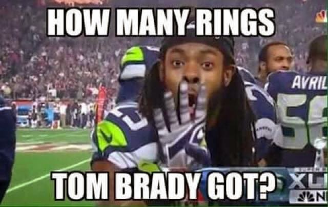 How many rings tom Brady got?