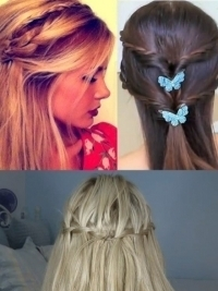 3 lovely half up hairstyles to try world of fashion