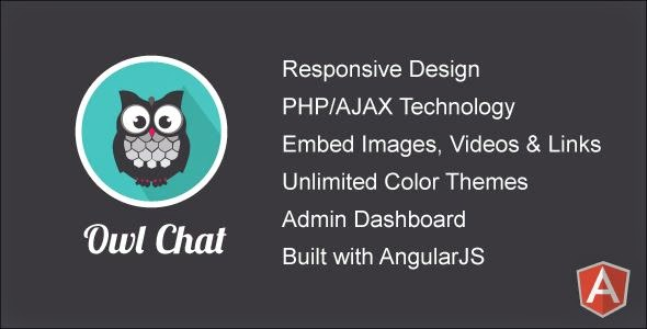 Owl Chat - Responsive Chat Community
