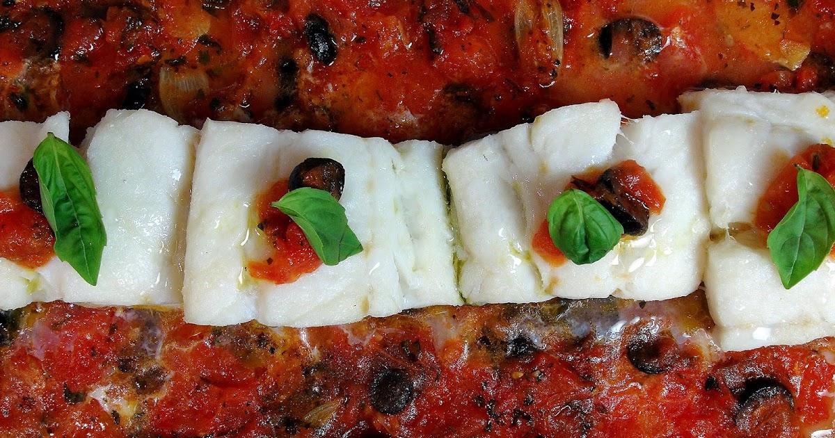 Cocinar para los amigos bacalao con tomate y aceitunas for Cocinar para los amigos