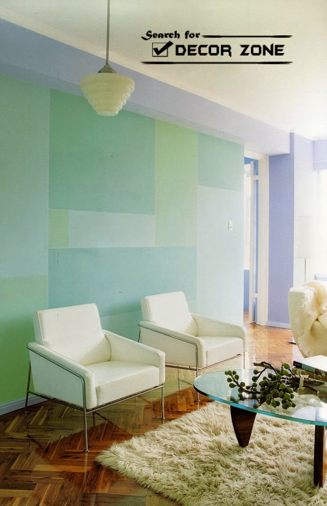 7 wall painting techniques and ideas for modern home - Wall paintings for living room ...
