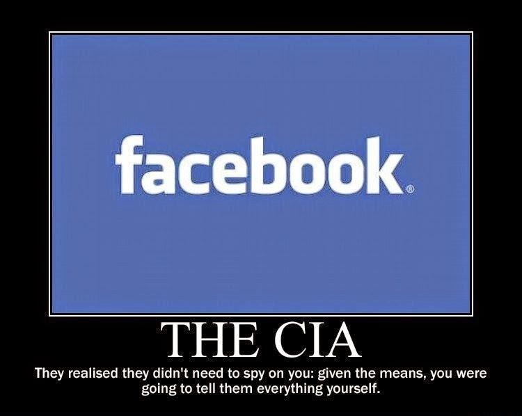 """Facebook = CIA, ou """"O espião é você mesmo"""" :)"""