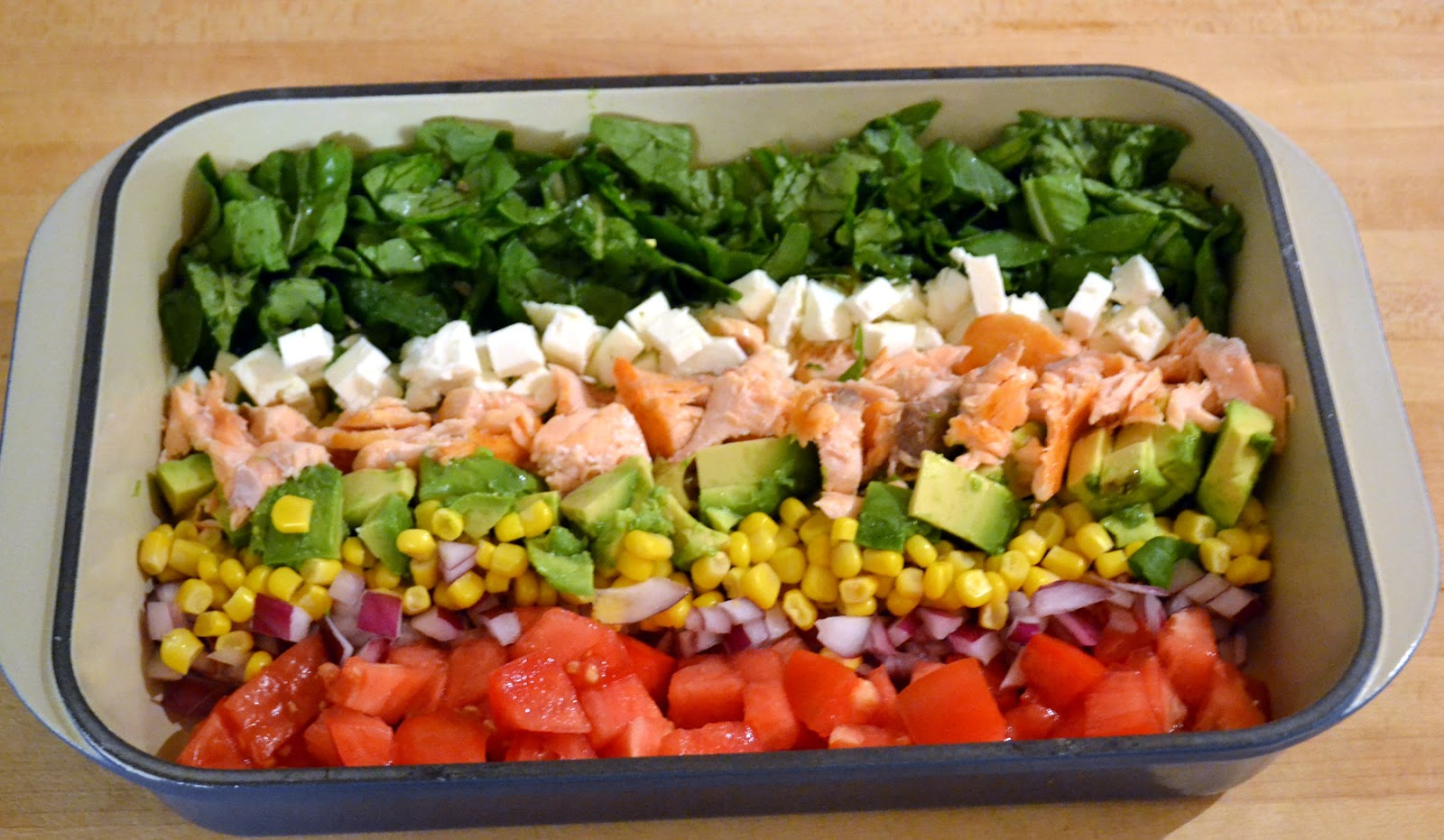 "Salmon ""Cobb"" Salad ~ New York Food Journal"