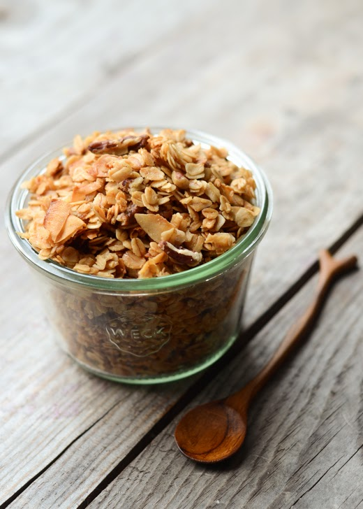 The Best Granola Recipe - Buttered Side Up