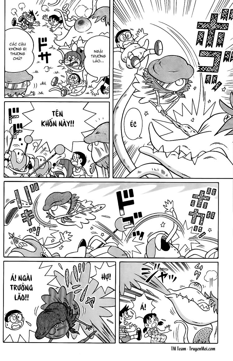Truyện tranh Doraemon Dài Tập 25 - Nobita và truyền thuyết thần rừng trang 186