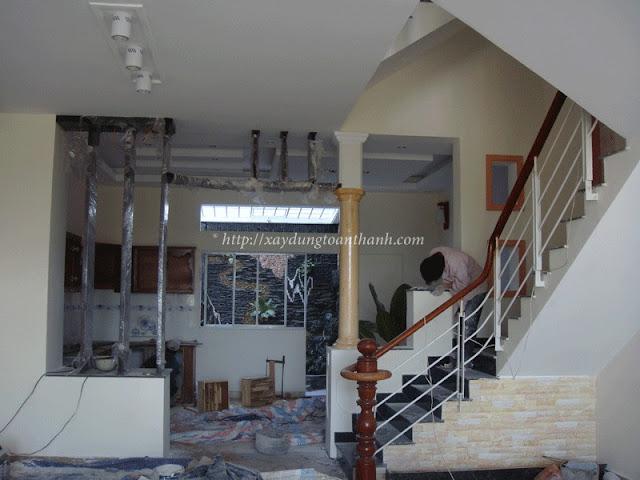 hình ảnh sửa chữa nhà cũ