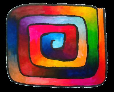 """Bild """"Labyrinth der Farben"""""""
