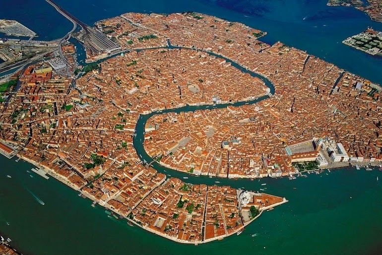 aerial photography - Venice