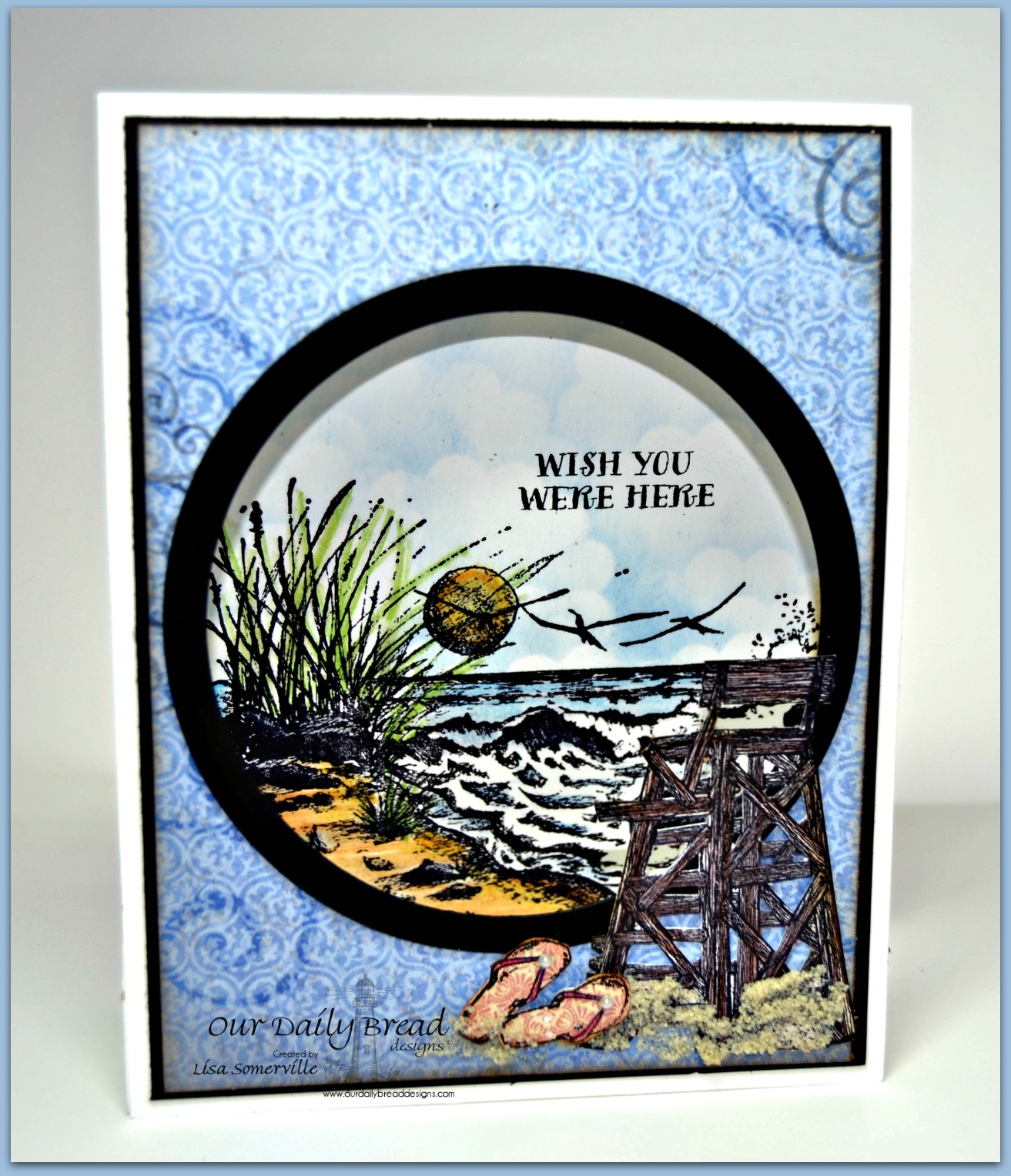 Designs by Lisa Somerville: Sand, Surf and Sun! Our Daily Bread ...