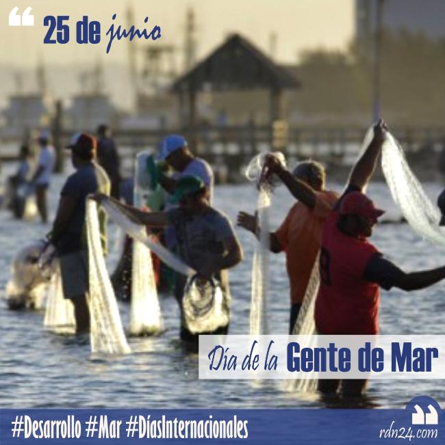 25 de junio – Día de la Gente de Mar #DíasInternacionales