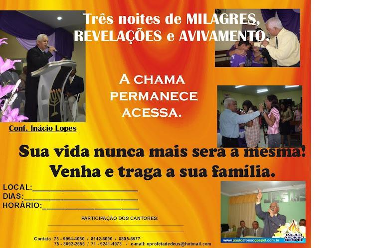 REALIZO ESTAS CONFERENCIAS, cruzadas evangelísticas,palestras      NAS IGREJAS, ACEITAMOS CONVITES.