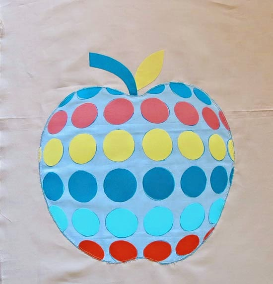 Applique Apple Quilt