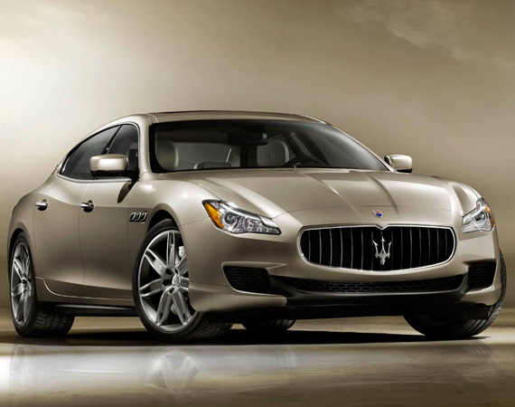 2013 MASERATI QUATTROPORTE PERFORMANCE SEDAN  DESIGN - EXTERIOR