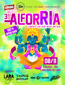 Alforria - Uberlândia/MG - 08/11